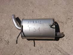 Глушитель бочка задняя часть Nissan X-Trail T31