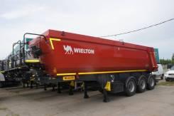Wielton самосвальный полукруглый 30 м3) ССУ 1200 мм new model, 2020