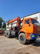 КамАЗ 43118-46 седельный тягач с кму Palfinger ИТ-200, 2018