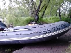 Продам лодку Кайман 380 и лодочный мотор Yamaha 30
