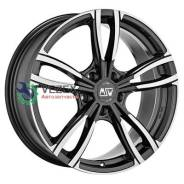 Диск 7,5x17/5x112 ET24 D73 73 Gloss Dark Grey MSW