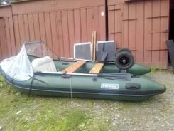 Продам лодку Форвард 360. Деревянный пол, отличное состояние, э