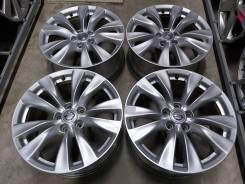 """Оригинальные литые диски Nissan 18"""" (5*114.3) 8j et+43 цо66.1мм"""