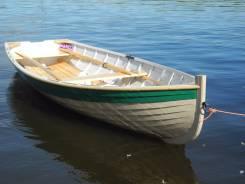 """Деревянная лодка """"Пряжинка"""""""