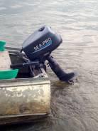 Лодочный двигатель sea-pro5 отс, б/у 30000?