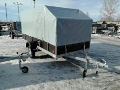 Прицеп Снегоход с тентом кузов 1,34*3,20