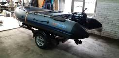 Лодка ProfMarine 350 НДНД + Suzuki DT15A+телега