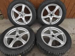 Комплект литых колес Bridgestone 225/55R-18 с зимней резиной Dunlop