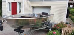 """Лодка """"Вятка Профи 380. (Подходит под водомет)."""