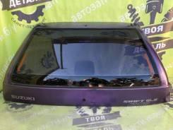 Дверь багажника со стеклом Suzuki Swift 2 1999 Хэтчбэк