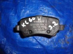 Volvo xc60, s60 2, v60, s80 2, v70 3, xc70 3 колодки тормозные задние