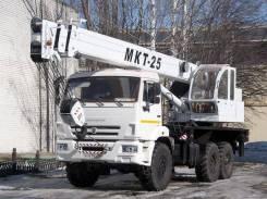 Аренда автокрана 25 тонн Ульяновец МКТ-25