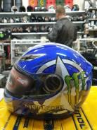 Шлем мотоциклетный Monster интеграл