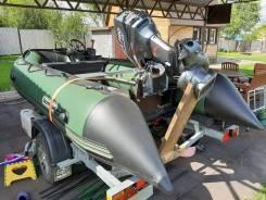 Продам лодку GolfStream MS430 с водометом