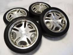 Диски Enkei Lowenhart c шинами Dunlop 225x45x18