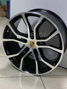 Разноширокие диски R21 Porsche Cayenne