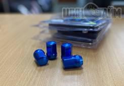 Новые гайки 12х1,5 синие 20шт