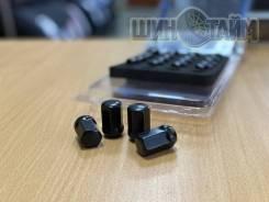 Новые гайки 12х1,5 черные 20шт