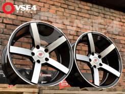 NEW! Вогнутые! # Vossen CV3 R17 8J 5x114,3 Black Polish [VSE-4]