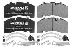 Колодки тормозные дисковые BPW /SAF (211х108х30) M2629308 Marshall