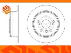 Диск тормозной G-Brake GR01131 задний