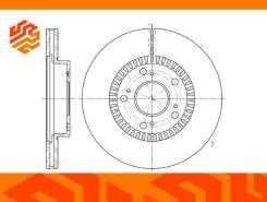 Диск тормозной вентилируемый G-Brake GR02993 передний