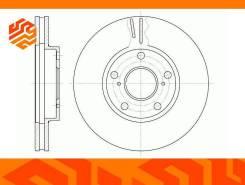 Диск тормозной вентилируемый G-Brake GR02209 передний