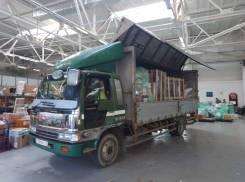 Грузоперевозки переезды доставки город край фургон бабочка