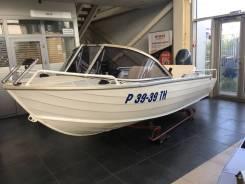 Моторная лодка Quinterx Coast Runner 455 в комплекте с Yamaha F50HETL