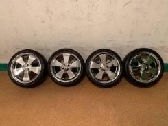 Продам комплект колес G-Corporation Estatus на 17 с летней резиной.