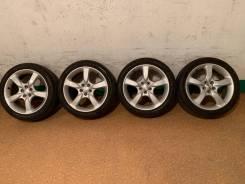Продам комплект колес Subaru на 17 с летней резиной.