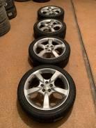 Продам комплект колес Subaru на 17 с всесезонной резиной.