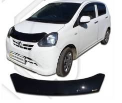 Дефлектор капота Daihatsu Mira e: S 2011-17г