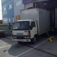 Грузоперевозки фургон 3т 17м3 круглосуточно в Уссурийске