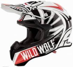 Продам шлем Airoh Terminator Open Vision (Wild Wolf)+ очки Scott Tyran