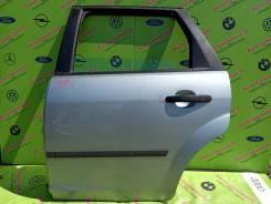 Дверь зад левая Ford Focus 2 (05-08г) универсал голое железо