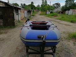 Продам лодку англер 330к 17 год