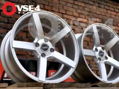 NEW! Вогнутые! # Vossen CV3 R16 7,5J 4x100 Silver Polish [VSE-4]