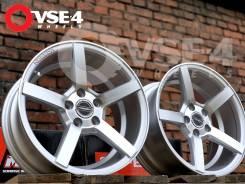 NEW! Вогнутые! # Vossen CV3 R15 7J 5x100 Silver Polish [VSE-4]