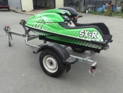 Kawasaki SX-R 800 -2009 год с телегой