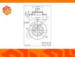Диск тормозной Brembo 08521110 передний