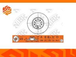 Диск тормозной NIBK RN1379 передний (Япония)