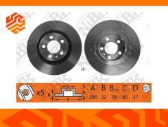 Диск тормозной NIBK RN1083 передний (Япония)