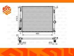 Радиатор системы охлаждения Valeo 700802