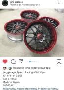 Редкий разноширокий JDM Sparco Racing NS-II Viper Japan б/п по РФ