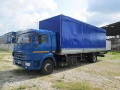 Шторный бортовой фургон с тентом и задними распашными воротами Камаз-5308-3015-48(А5)