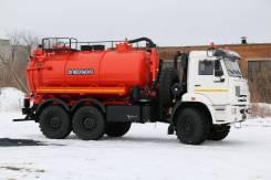 Илососная машина АКНС-10 НПО Вектор на шасси Камаз-43118