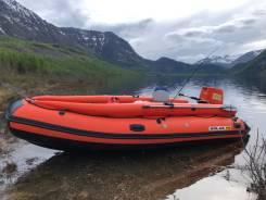 Продам лодку Solar 450 JET тоннель
