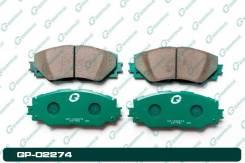 Тормозные колодки Gbrake T. Corolla 06- Premio/Allion 07- Prius zvw4#