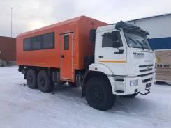 Новый КамАЗ 43118 Вахтовый ЕВРО 5, 2020